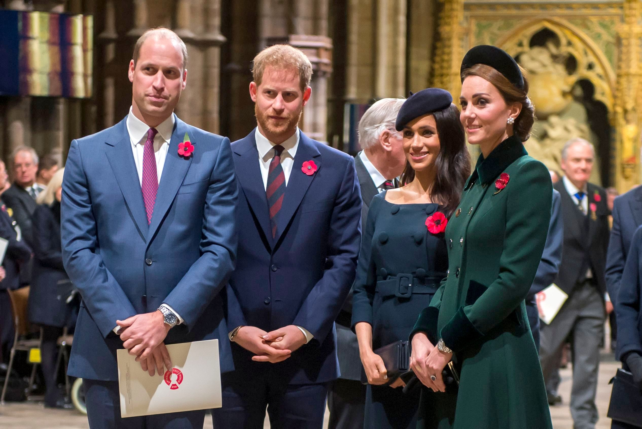 Prince William Is 'Devastated' After Harry, Meghan's Claims About Wife Kate