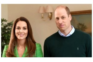 Prince William Duchess Kate Get Flirty St Patricks Day Video