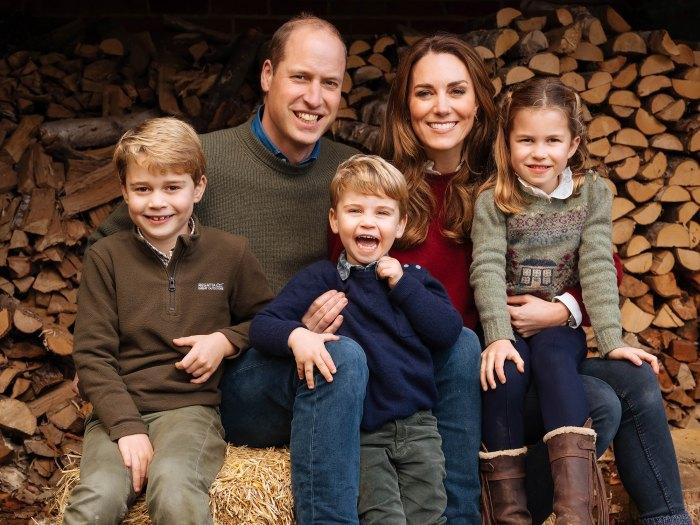 El príncipe William y Kate Middleton comparten dulces tarjetas del día de la madre que sus hijos hicieron para la princesa Diana 'abuelita'