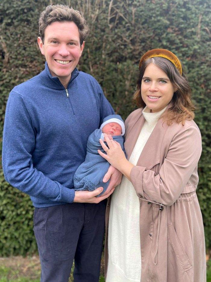 La princesa Eugenia comparte nueva foto de su hijo August Jack Brooksbank