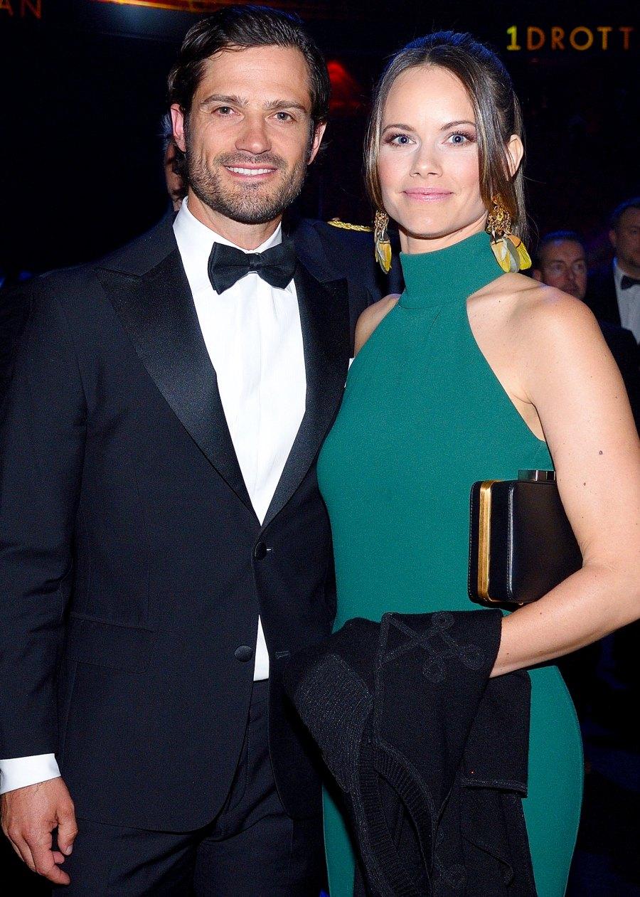 Swedish Royals Princess Sofia Prince Philip Welcome Son 2021 Births