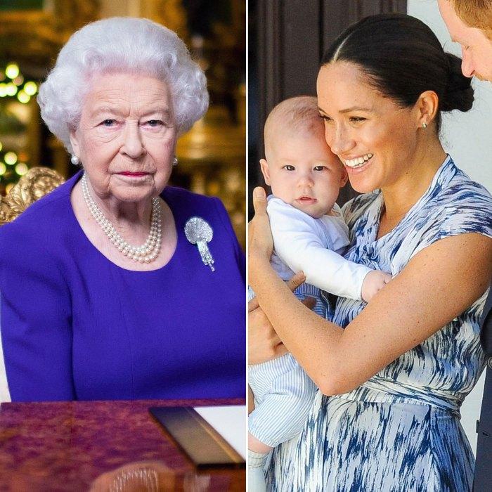 La reina Isabel II parece haber hablado con un miembro de la familia real que comentó sobre el color de piel de Archie