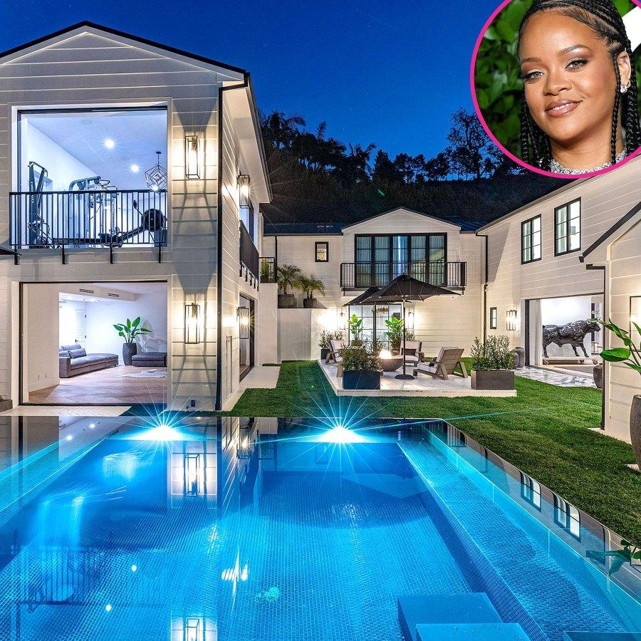 Inside Rihanna 13.8 Million Mansion See Pics