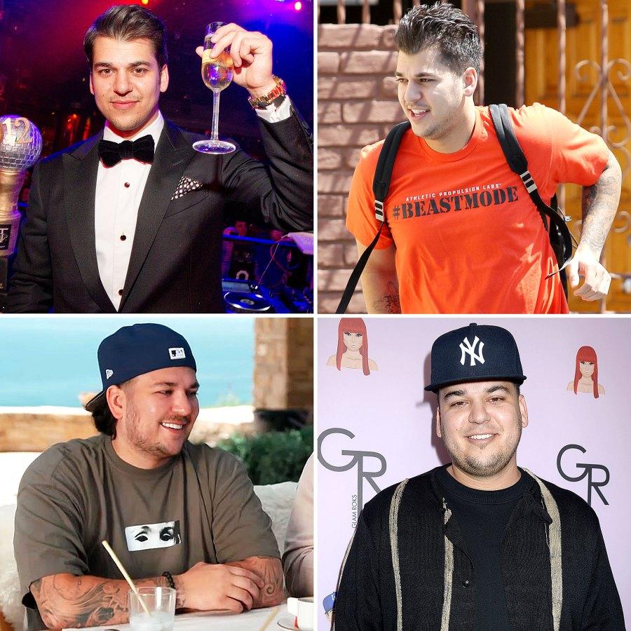 Rob Kardashian Through Years