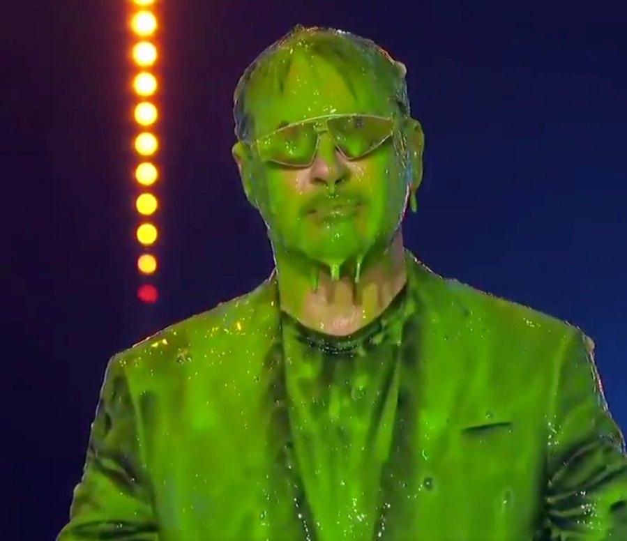 Stars Getting Slimed at the Nickelodeon Kids' Choice Awards: Robert Downey Jr.