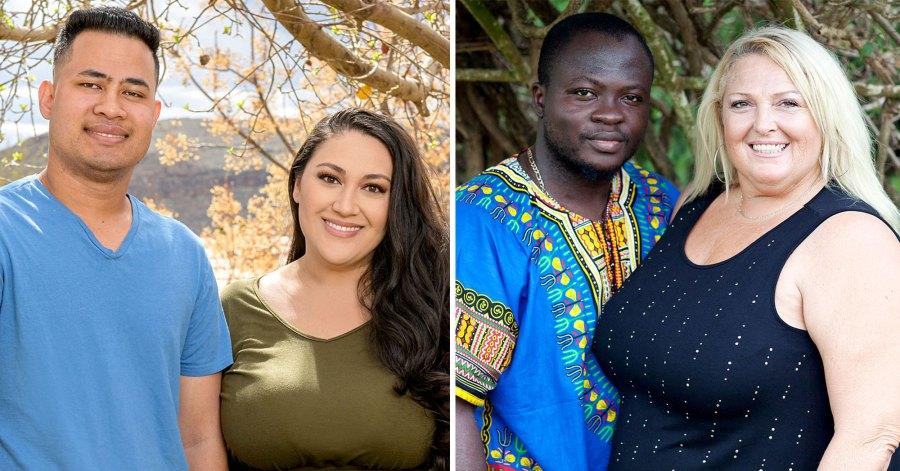 Kalani Faagata Asuelu Pulaa Angela Deem Michael Ilesanmi 90 Day Fiance Happily Ever After Cast Revealed