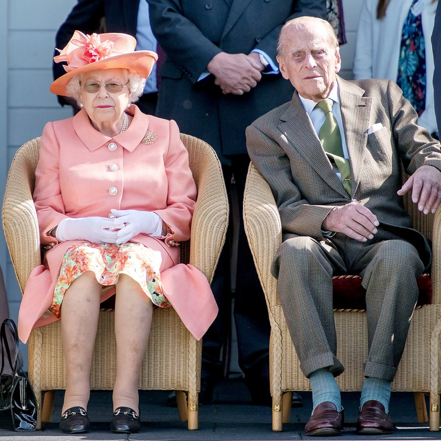 Royal Family Trying Not to Overwhelm Prince Philip With Prince Harry Meghan Markle News