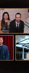 Sacha Baron Cohen and Isla Fisher PDA golden globes 2021
