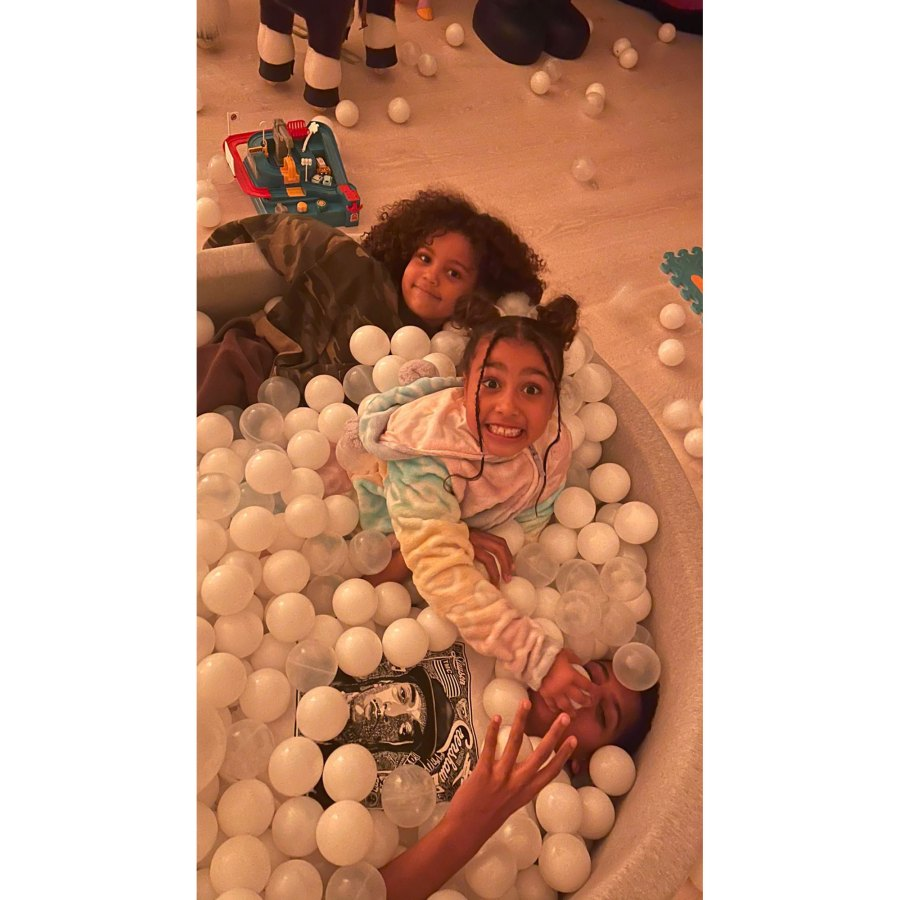 Saint West and North West Ball Pit