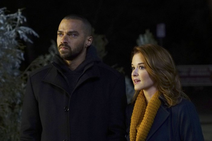 Sarah Drew y Jesse Williams Greys Anatomy