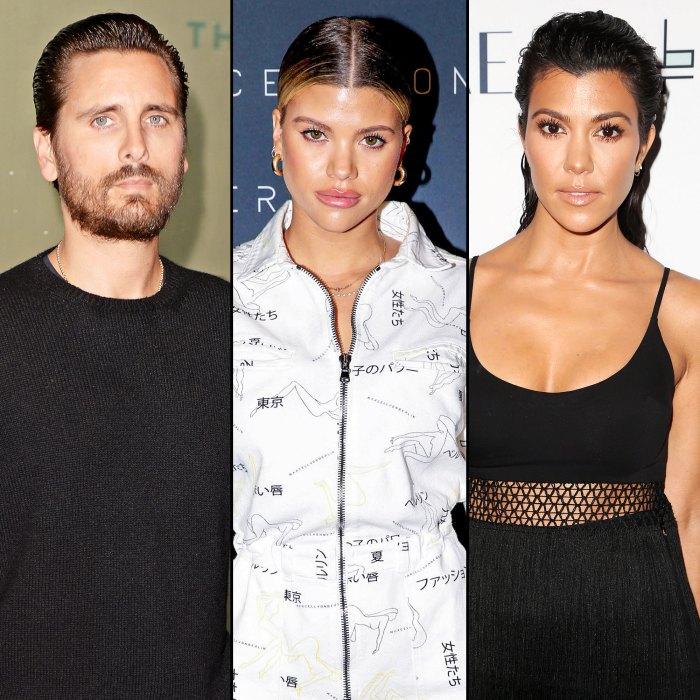 Scott Disick Claims Sofia Richie Wanted to Push Kourtney Kardashian Out