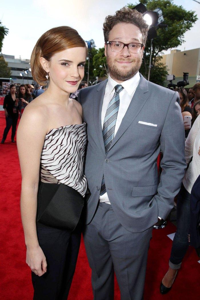 Seth Rogen Emma Watson Este es el final