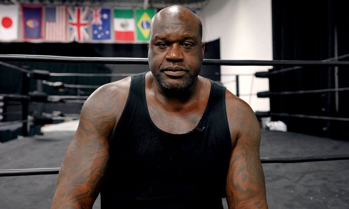 Shaquille ONeal Is Bringing Power Game AEW Match