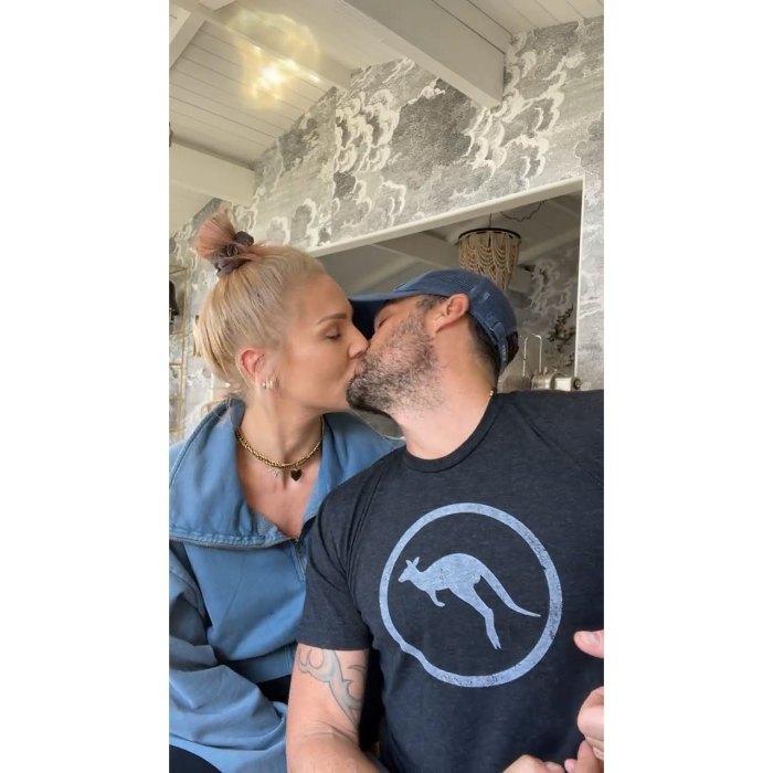 Sharna Burgess Didn't Kiss Brian Austin Green Until 4 or 5 Dates In Kiss PDA Instagram