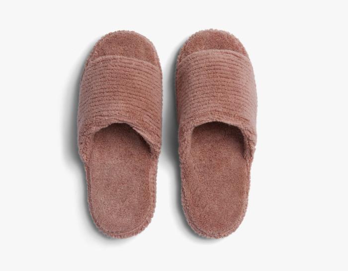Pantuflas de canalé suave