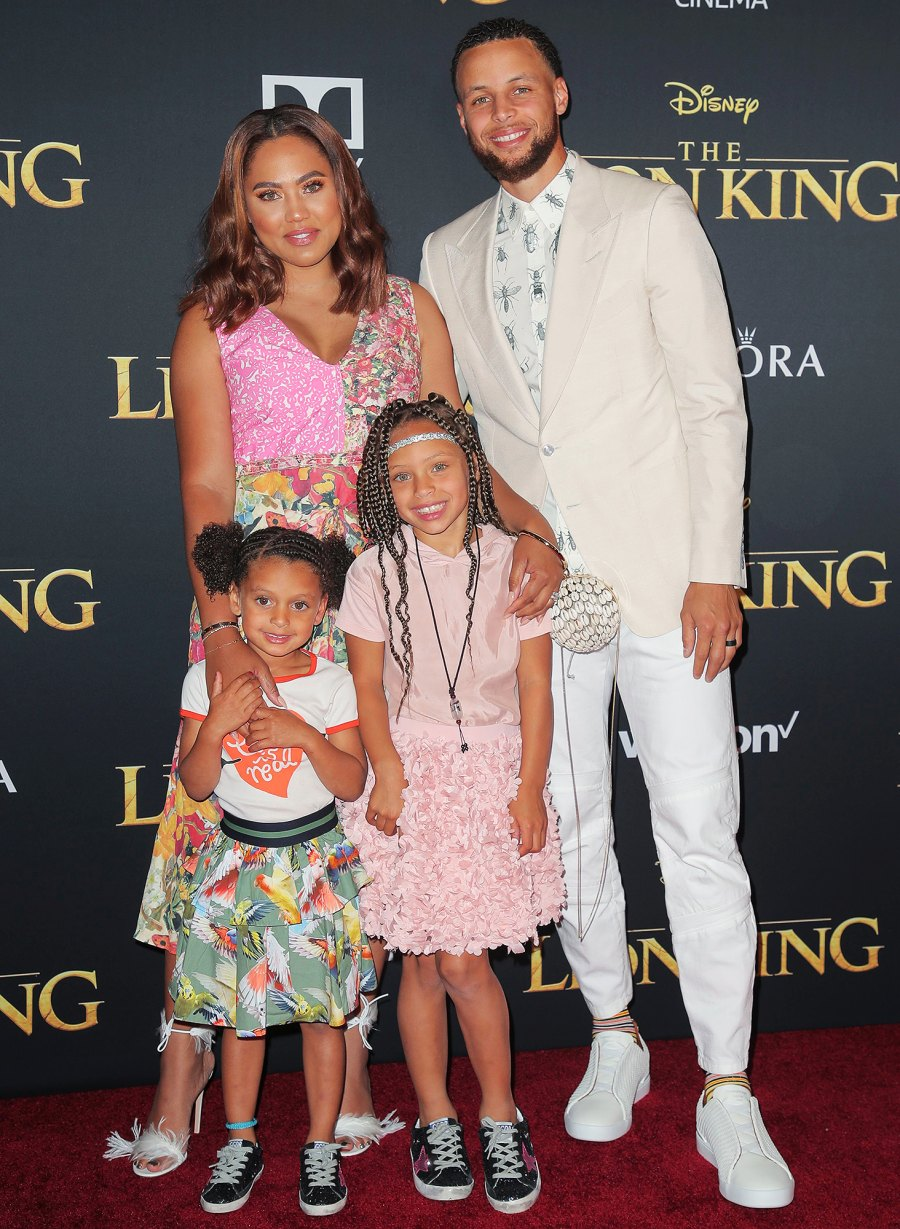 Stephen Curry and Ayesha Curry's Family Album With 3 Kids