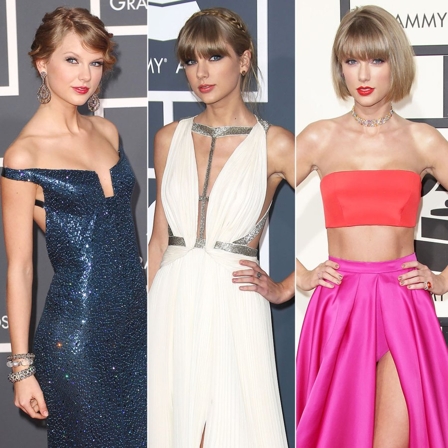 See Taylor Swift's Grammys Looks Through the Years