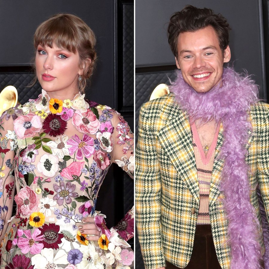 Taylor Swift and Harry Styles Prove They're Friendly Exes in Viral Grammys 2021 Video