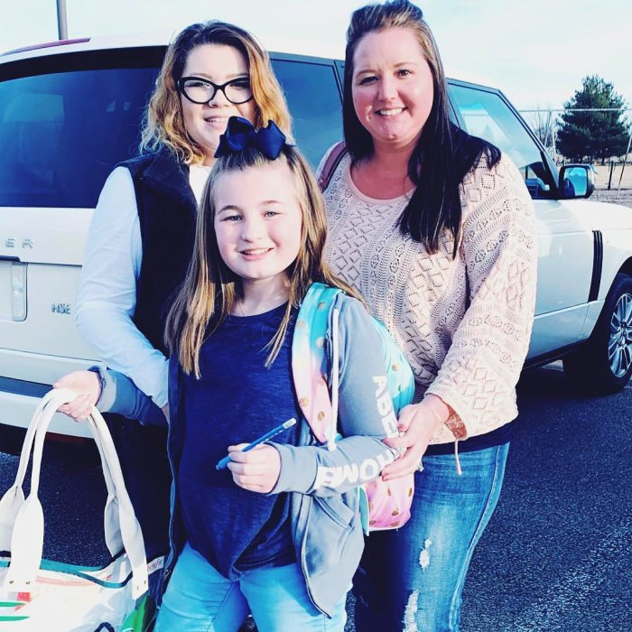 Teen Mom's Amber Portwood Reacts to Daughter Leah's Claims That Gary's Wife Kristina Does More for Her