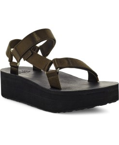 Teva Women's Flatform Universal Satin Sandals