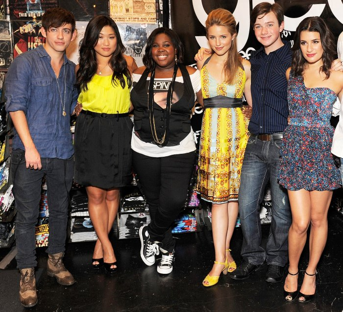 The Glee Cast Minus Lea Michele Is Reuniting to Honor Naya Rivera 1