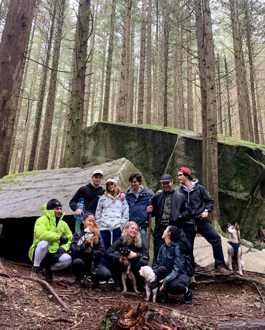The Riverdale Cast Goes Hiking