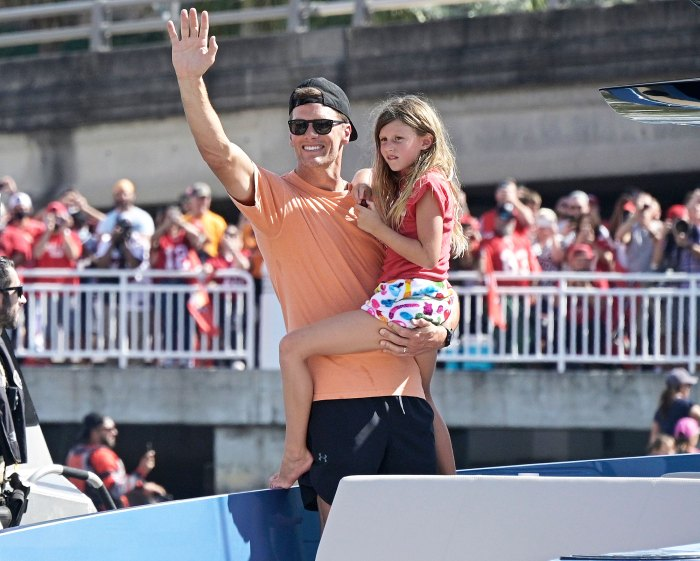 Tom Brady's Daughter Vivian Disapproved of Him Throwing Super Bowl Trophy