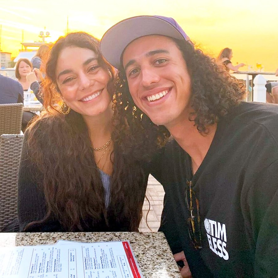 Vanessa Hudgens Cheers Boyfriend Cole Tucker MLB Spring Training Game