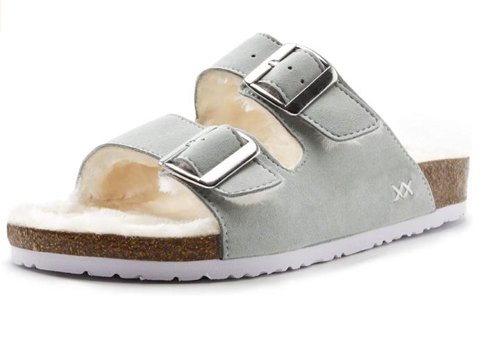 WALK PRO Women's Freewalk Cork Slip on Sandals