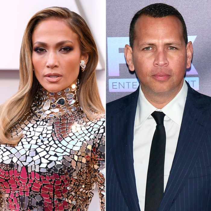 ¿Cuándo se vieron por última vez Jennifer López y Alex Rodríguez?  Dentro de su división