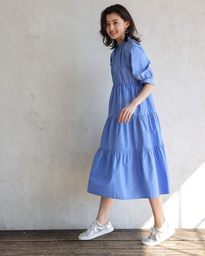 asahina-aya-the-drop-amazon-vestido