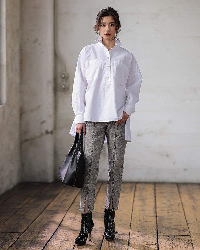 asahina-aya-the-drop-amazon-high-low-shirt