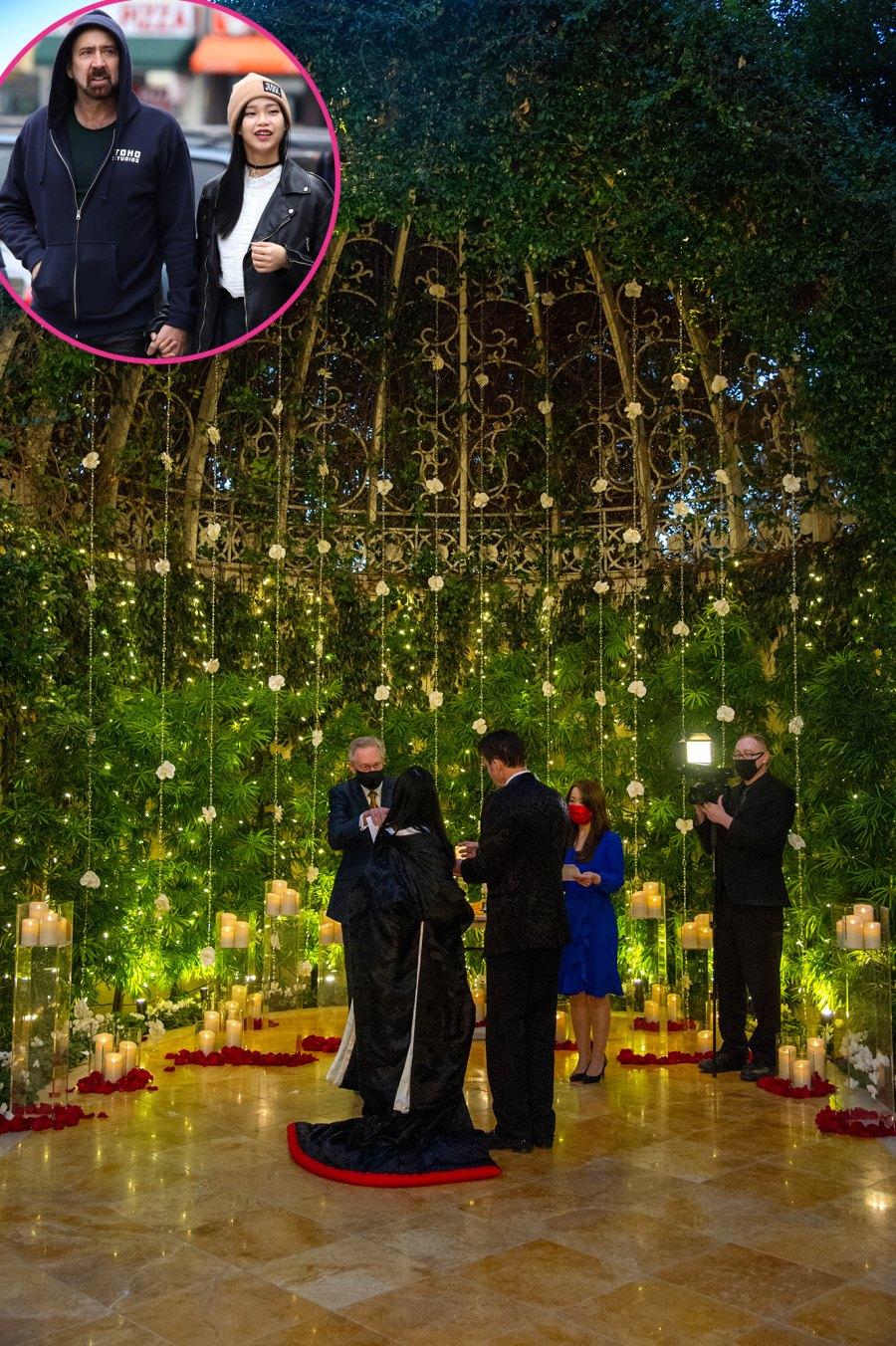Nicolas Cage Riko Shibata Celebrity Weddings of 2021