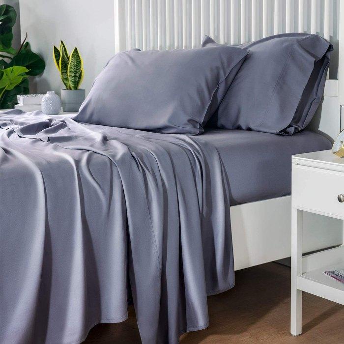 enfriamiento-ropa de cama-sábanas-de-bambú