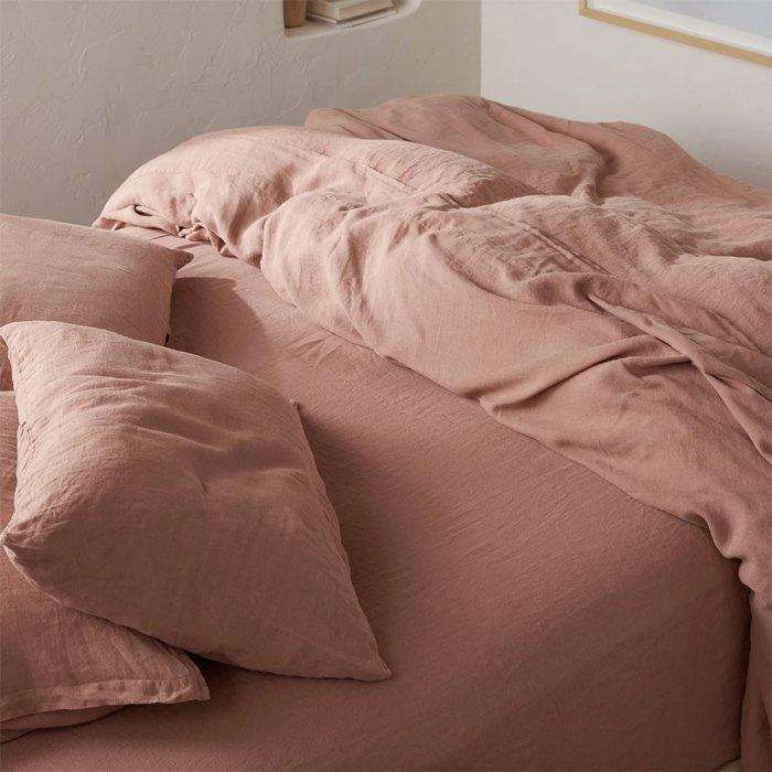 enfriamiento-ropa de cama-paracaídas-sábanas-de-lino