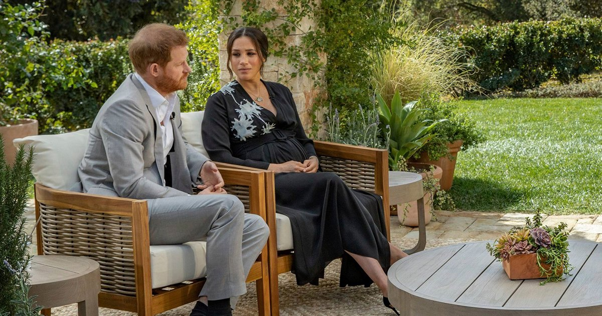 Prince Harry and Meghan Markle give tell-all interview about the royal family - cover