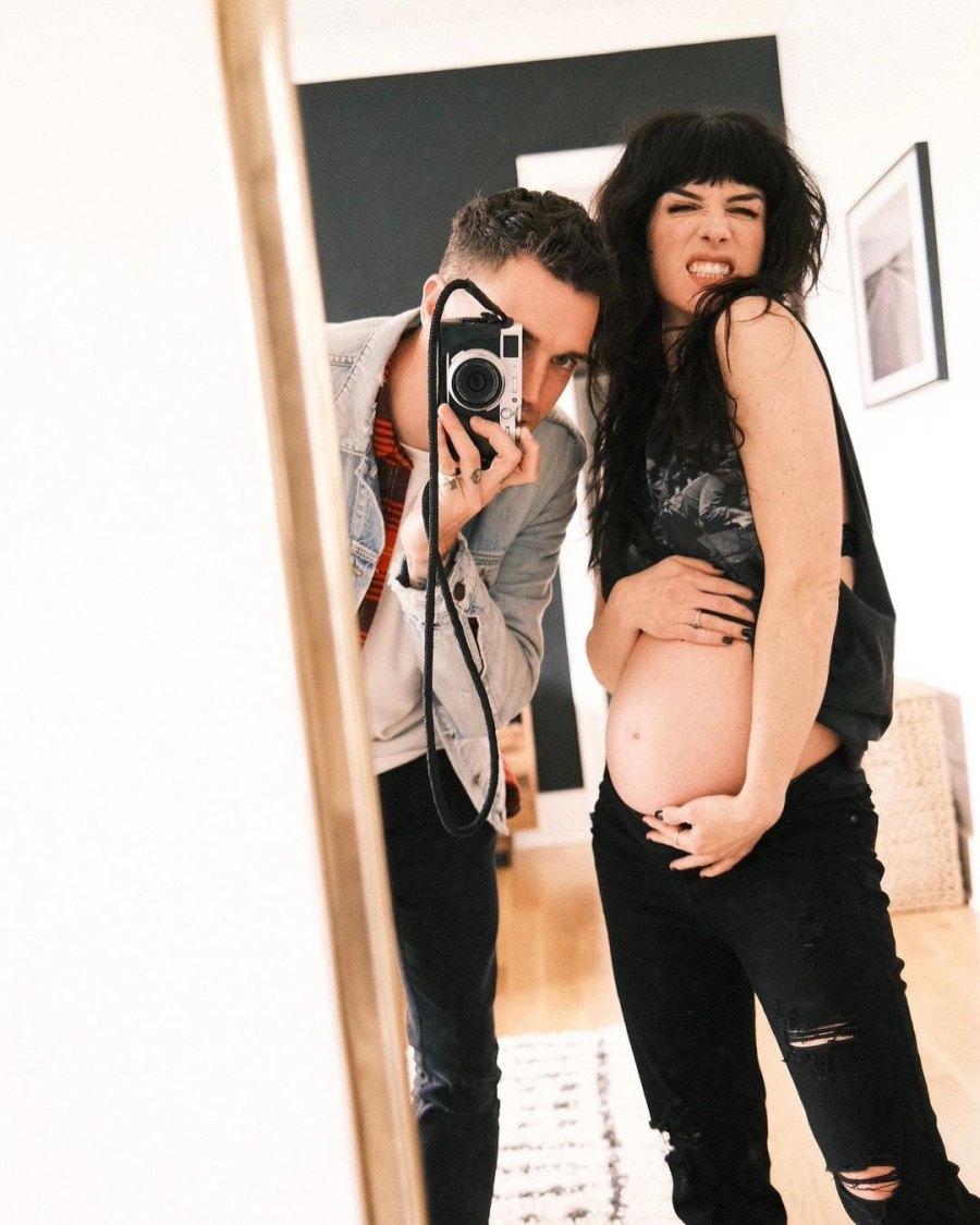 Shenae Grimes and More Pregnant Stars' 2021 Bump Pics