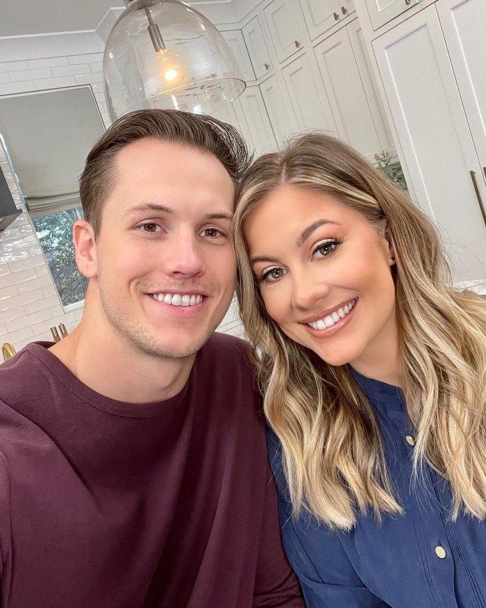 La embarazada Shawn Johnson revela la cosa más romántica que su esposo Andrew East hace por ella