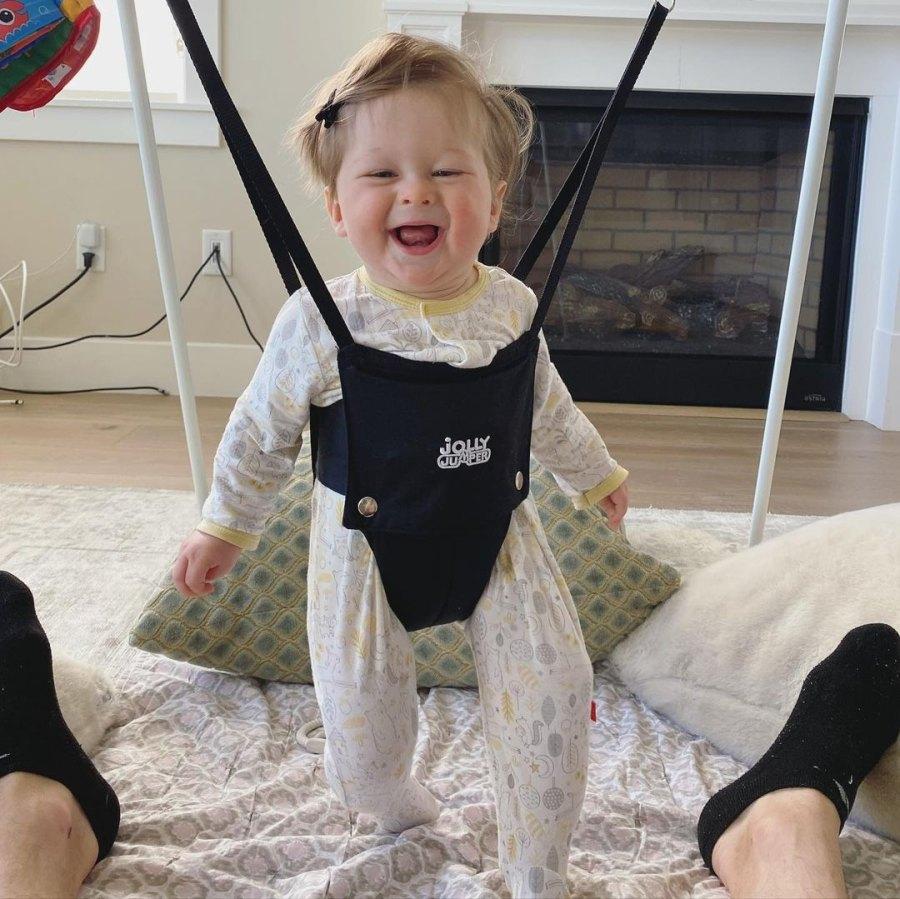 'Happy 8 Months'! See Nikki Bella and Artem Chigvintsev's Son Matteo's Pics