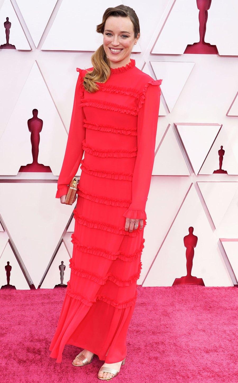 2021 Oscars Red Carpet Arrivals