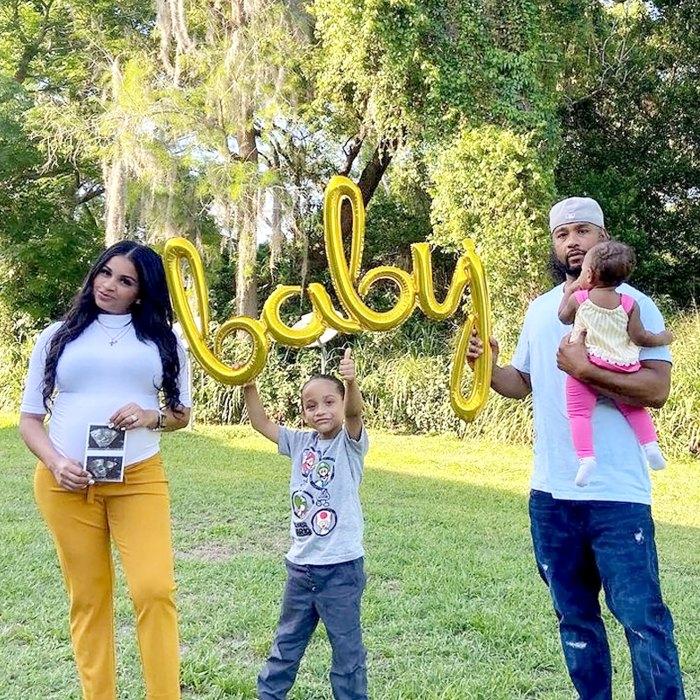 Anny Francisco, prometido de 90 días, está embarazada y espera su segundo hijo con Robert Springs