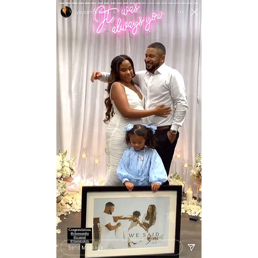 A Baby Shower Proposal Teen Mom OGs Cheyenne Floyd Zach Davis Engaged