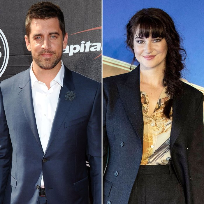 Aaron Rodgers Isn't Sure Which Family Members Will Be at Shailene Woodley Wedding