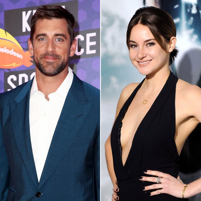 Aaron Rodgers and Shailene Woodley's Close Friends Think They Are 'Meant to Be'