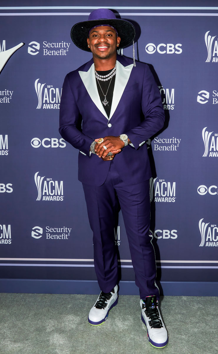 Academy of Country Music Awards Red Carpet Arrivals - Jimmie Allen
