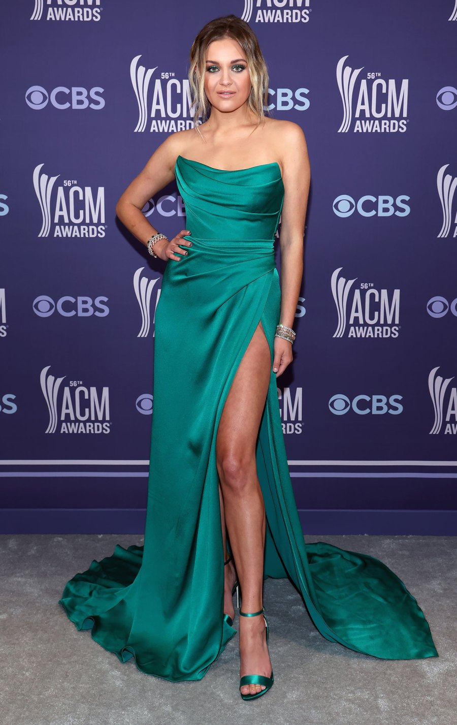 Academy of Country Music Awards Red Carpet Arrivals - Kelsea Ballerini
