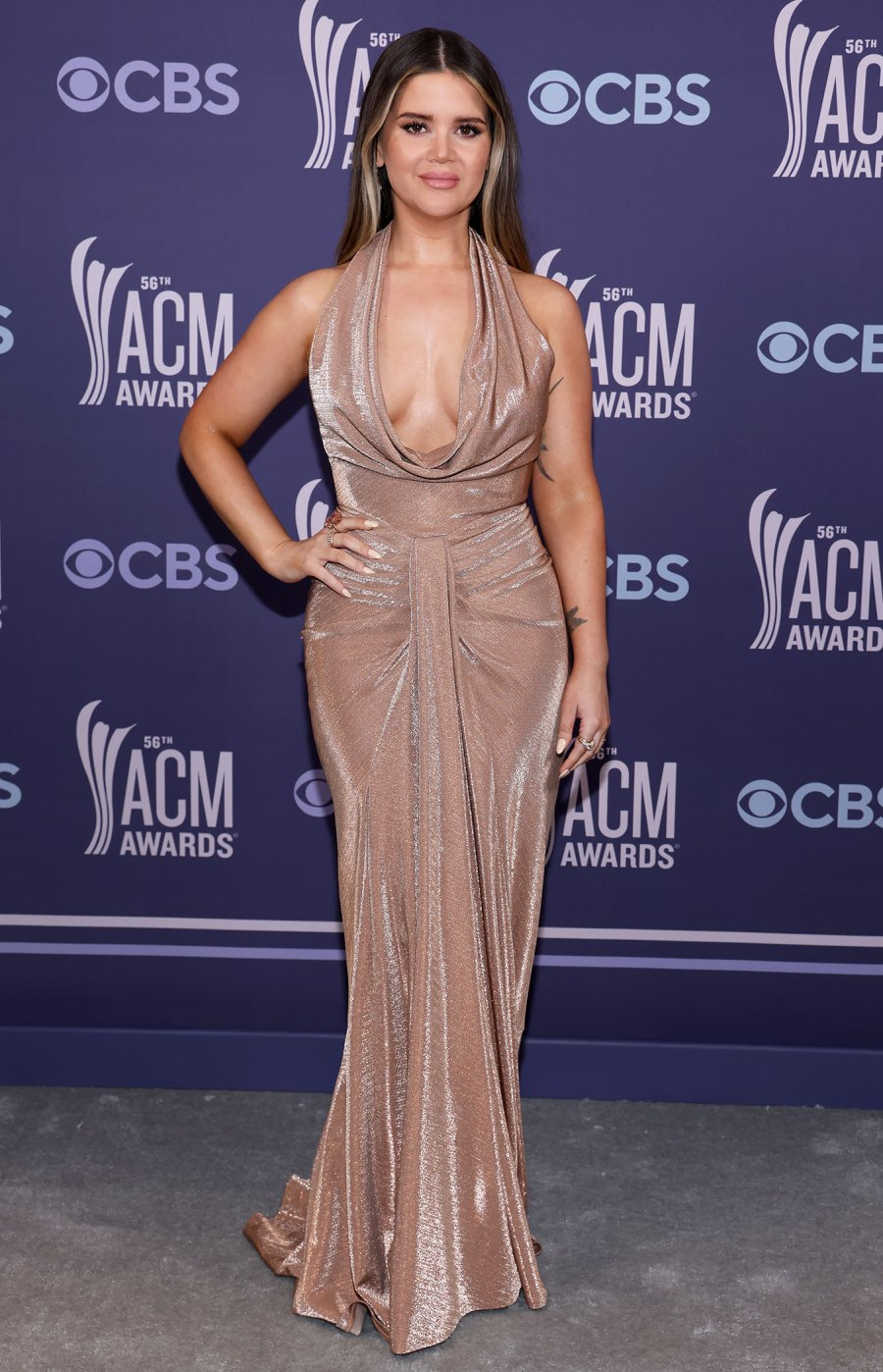 Academy of Country Music Awards Red Carpet Arrivals - Maren Morris