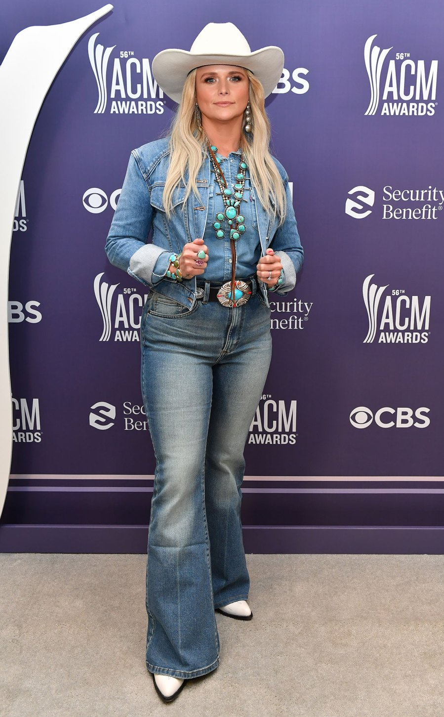 Academy of Country Music Awards Red Carpet Arrivals - Miranda Lambert