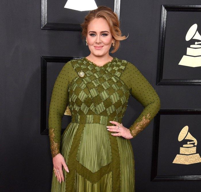Adele es vista por primera vez en meses en la fiesta de los Oscar 2