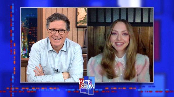 Amanda Seyfried y Thomas Sadoski no tendrán otro espectáculo tardío de bebés Stephen Colbert